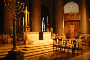 Photograph of the altar of the Cathedral Church of St. John the Divine